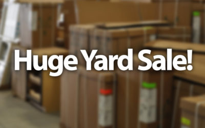 Huge Yard Sale at Our Gloucester Location!